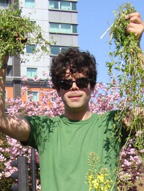 Richard Reynold Guerrilla Gardening UK