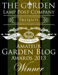 Amateur Garden Blog Awards